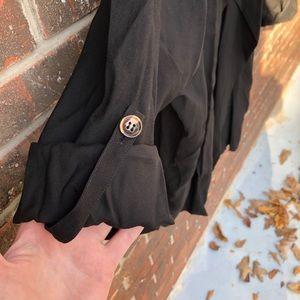 Piko 1988 Jackets & Coats - Oversized Black Piko Jacket